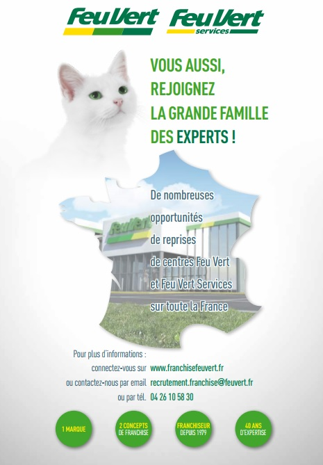 affiche salon franchise